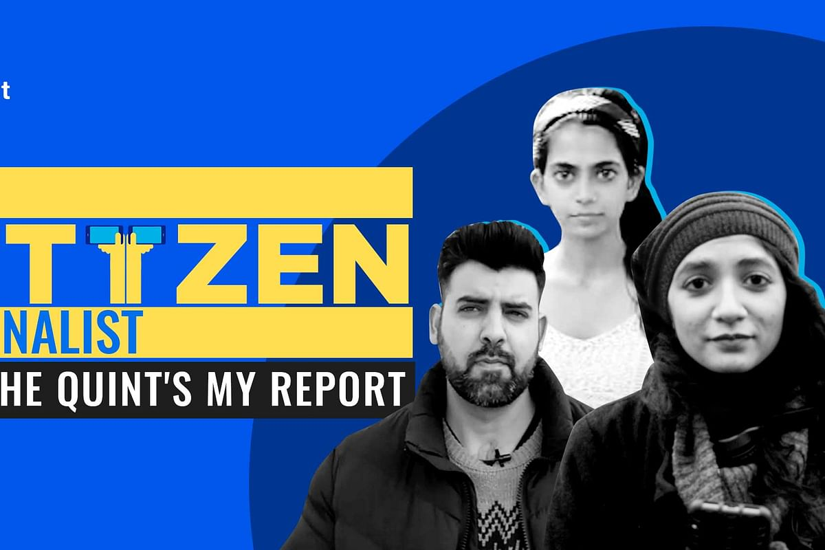 Click a photo, shoot a video. Report your story as a citizen journalist and WhatsApp it to us on 9999008335 or email us at myreport@thequint.com.