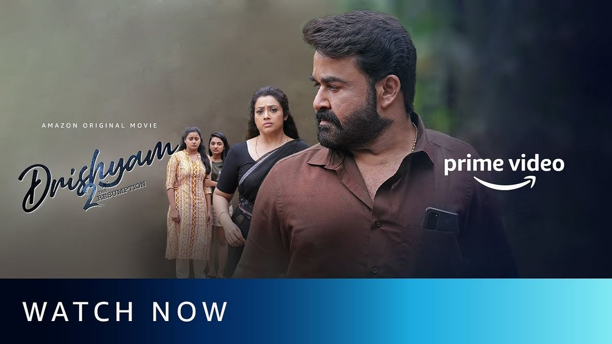 'Drishyam 2' released on Amazon Prime Video.