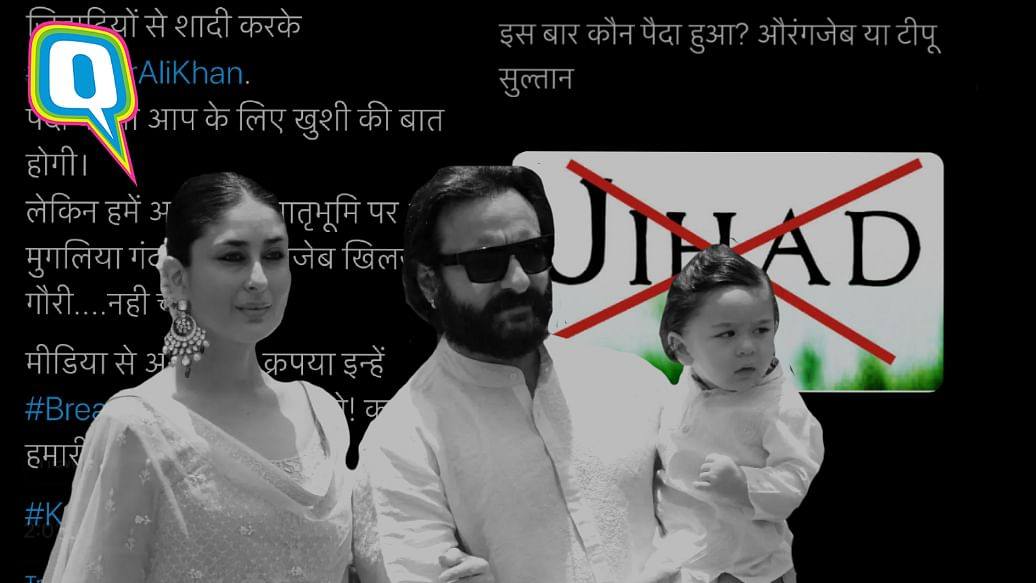 <p>What's with the hate for a newborn and unjustified theories on Saif's 'jihad'?</p>