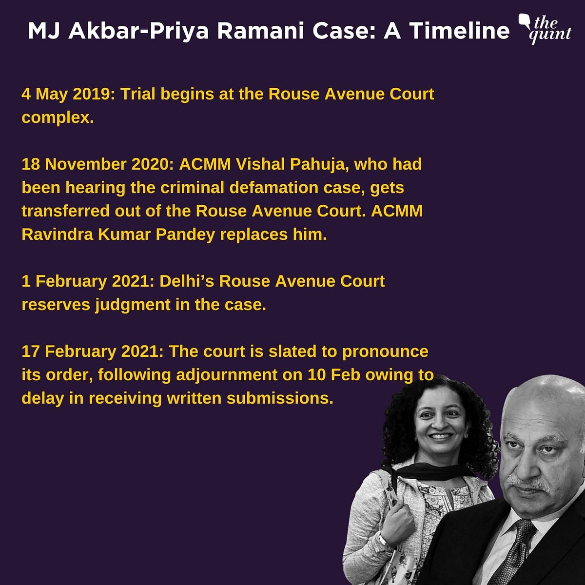 After 2 Years, 'Akbar vs Ramani' Verdict Today – Case Explained
