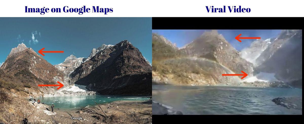 Visuals From Nepal Viral as 'Glacier Burst in Uttarakhand'