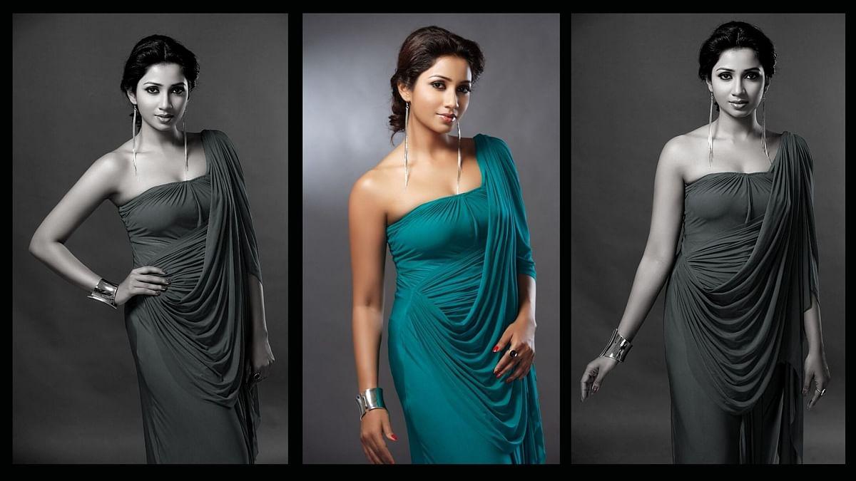 Shreya Ghoshal on her new single 'Angana Morey'.