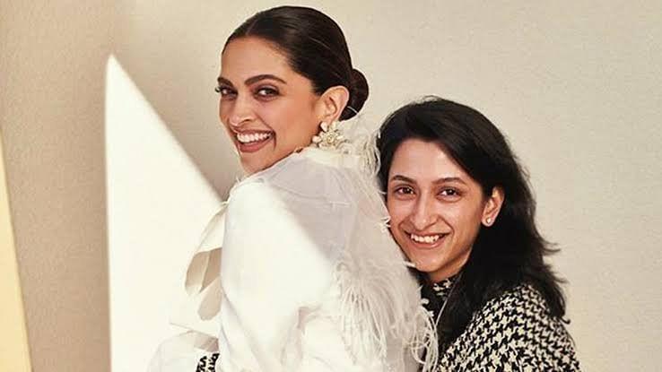 Deepika Padukone with her sister Anisha.