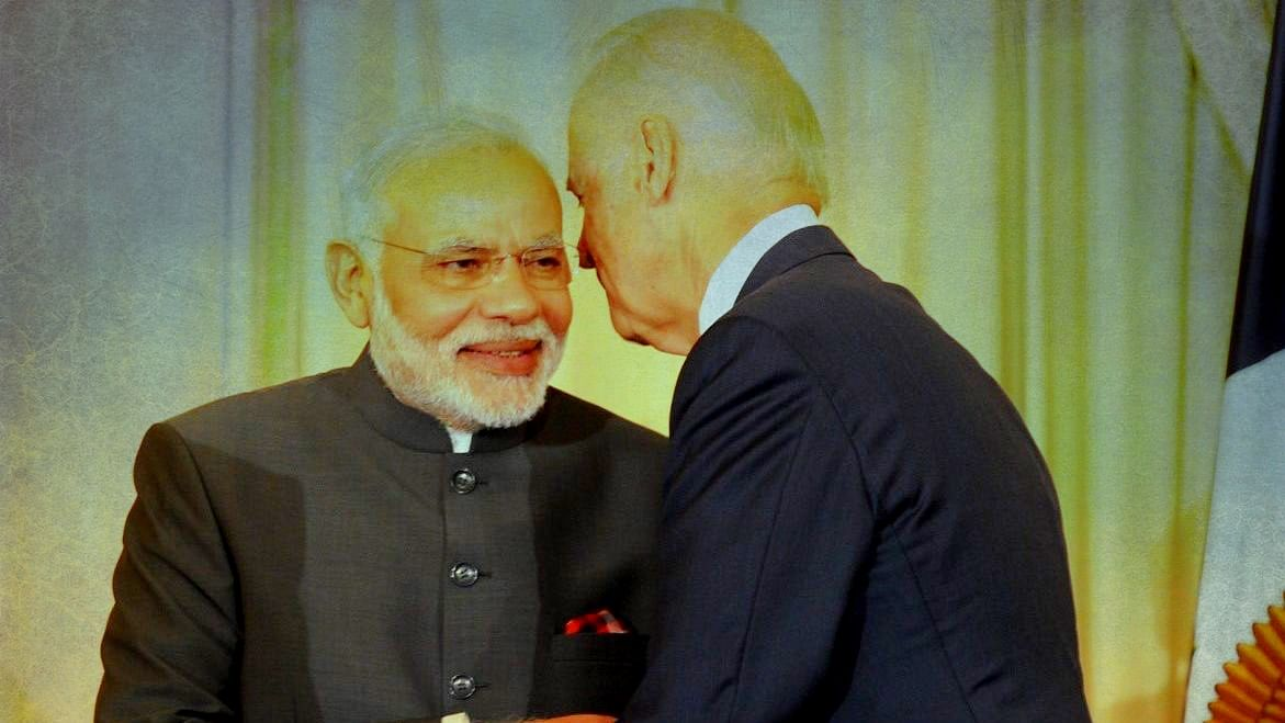 Prime Minister Narendra Modi and US President Joe Biden. File photo.
