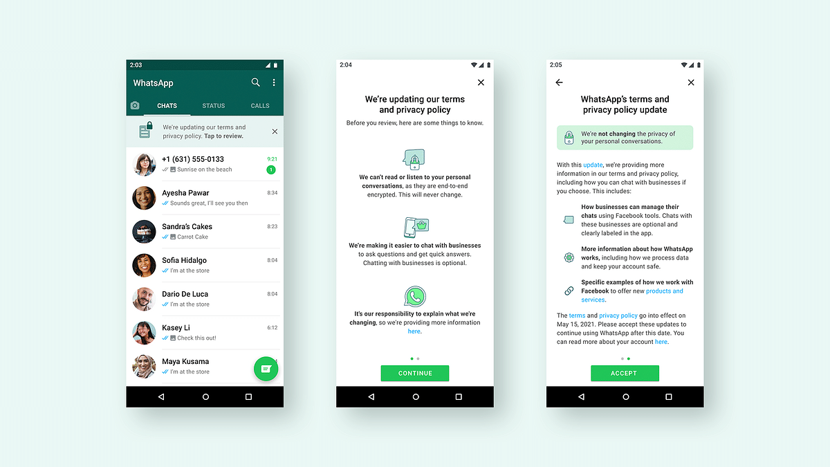 WhatsApp is releasing a banner option to curb misinformation around its Privacy Policy update.