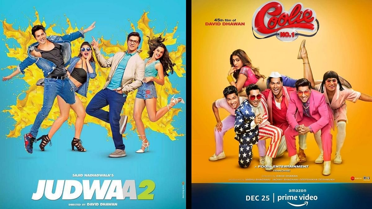 While 'Judwaa 2' was a box office hit, we can't say the same for 'Coolie No.1' as it got OTT release.