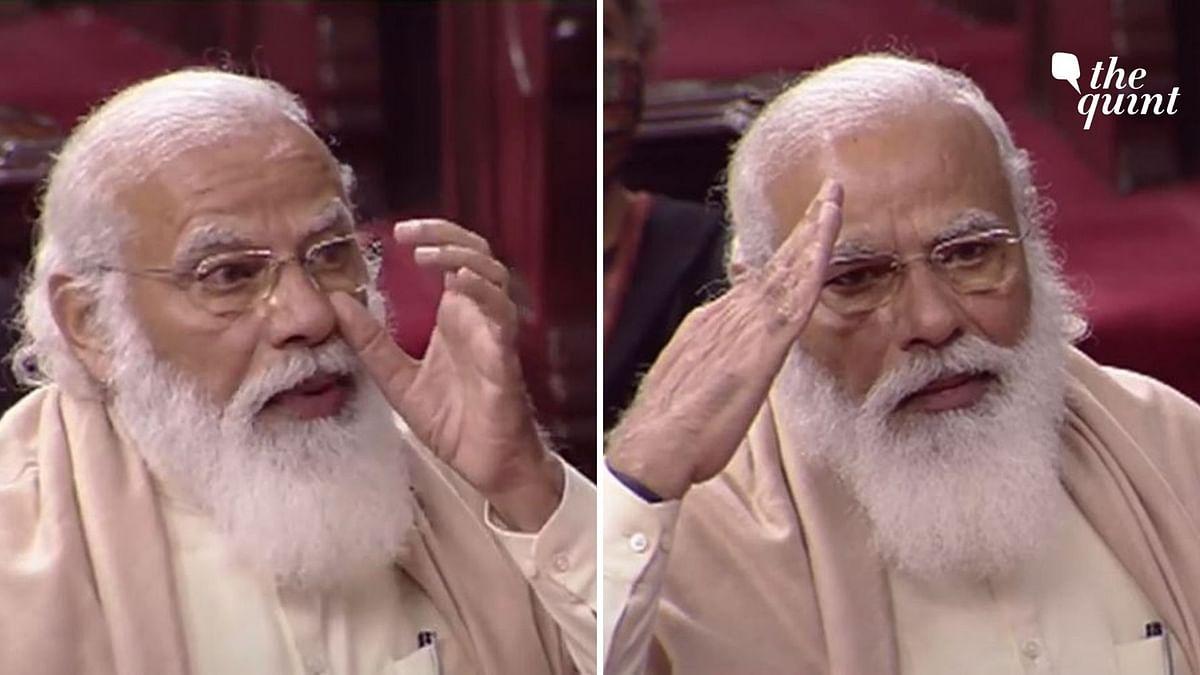 An Emotional PM Modi Bids Adieu to Ghulam Nabi Azad in Rajya Sabha
