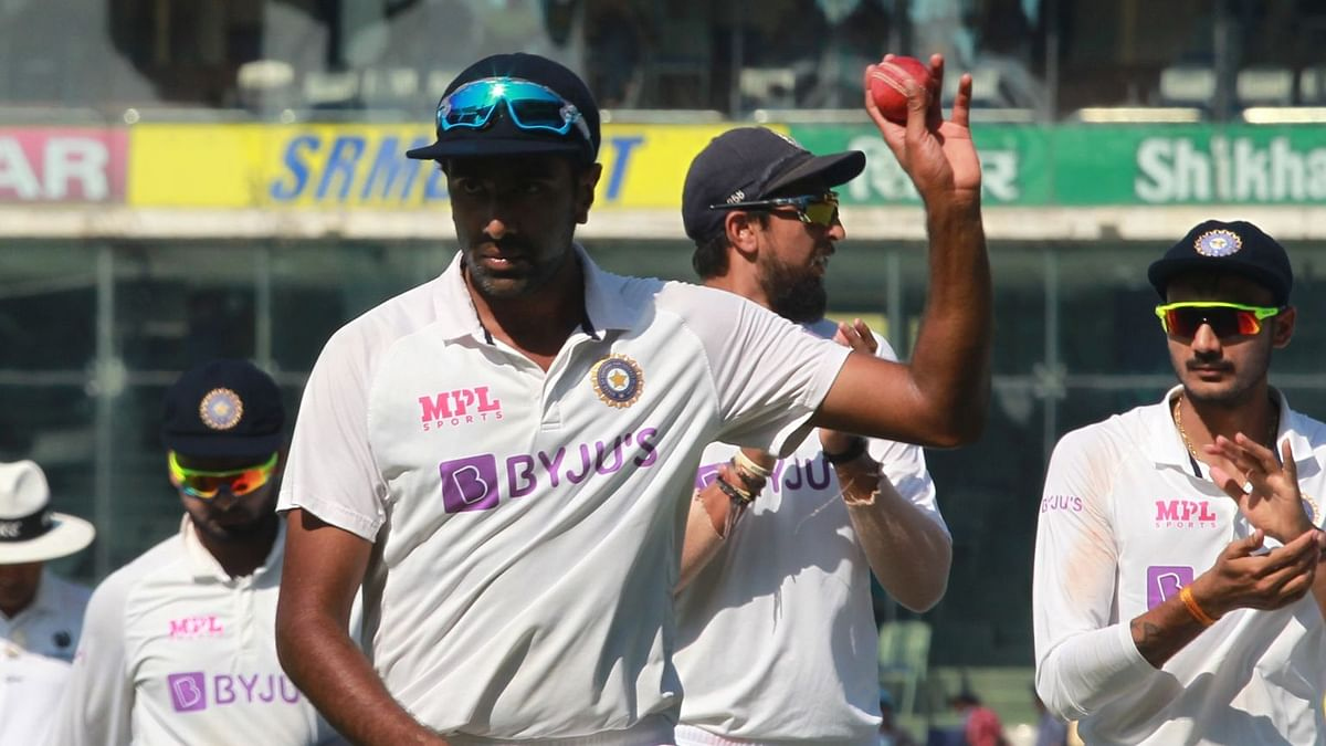 R Ashwin picked up 5 wickets for 63 runs on Day 2 of the Chennai Test.