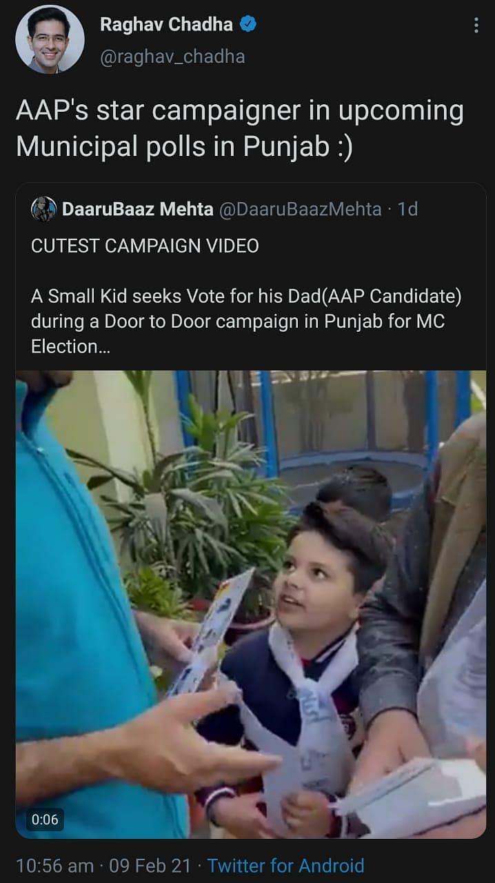 Young 'Star Campaigner' From AAP Is Winning Hearts In Punjab