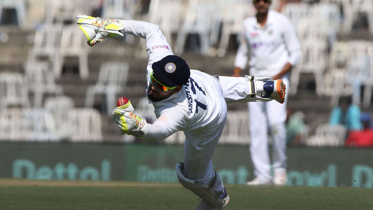 Rishabh Pant took two stunning catches on Day 2 of the Chennai Test vs England.
