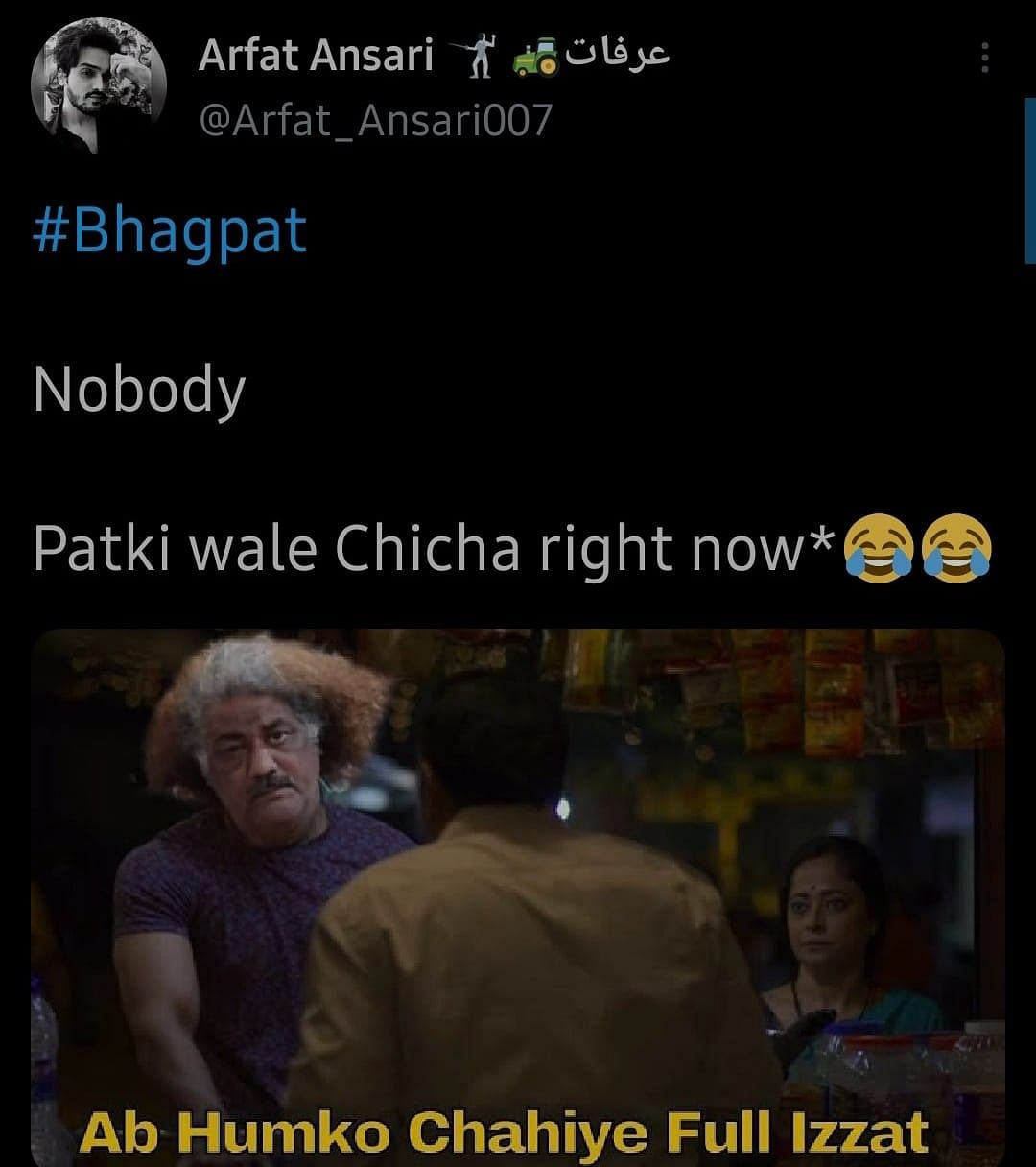 'Baal Wale Chacha' From UP's Street Fight Goes Viral