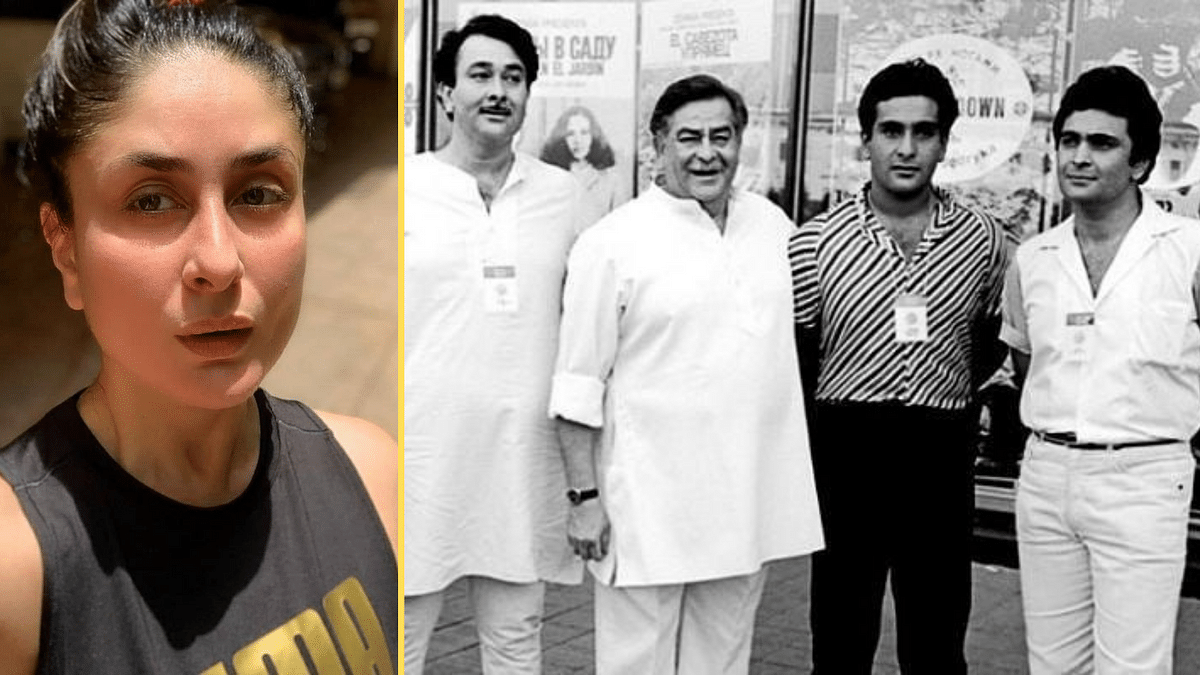 Kareena Kapoor posted an old Kapoor family photo in memory of uncle Rajiv Kapoor who died on 9 February.