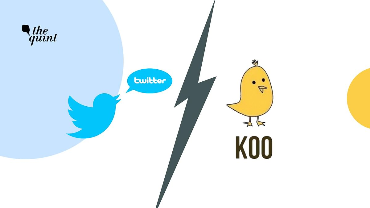 Symbols of Twitter & KOO used for representational purposes.