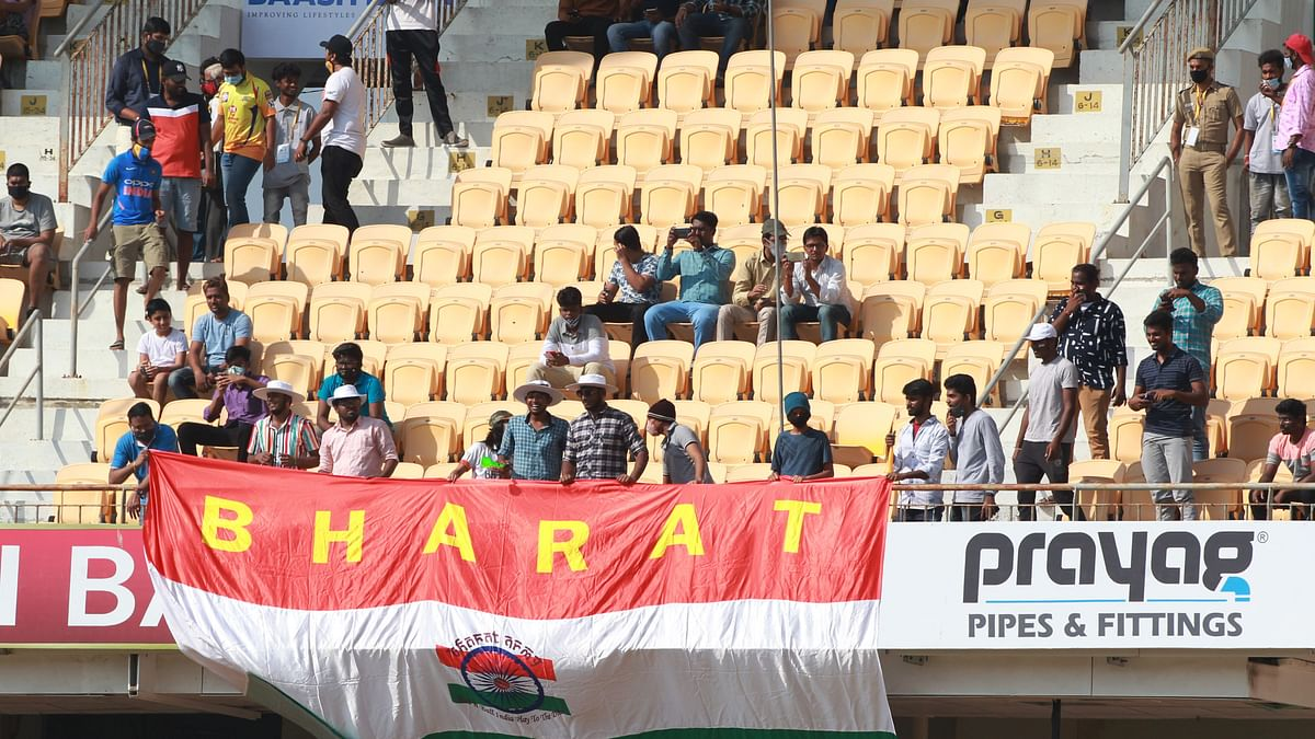 Fans Return to Stadium for First Time in India in 2nd England Test