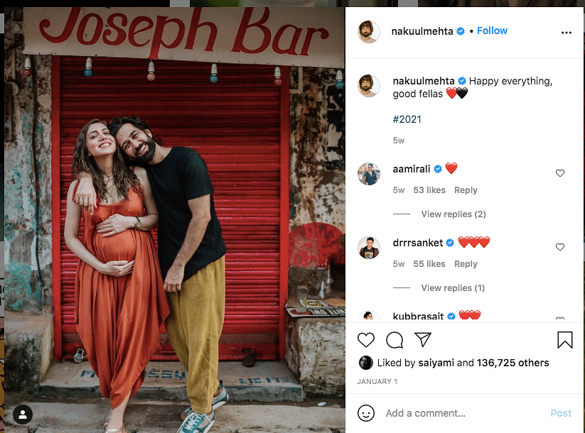 Actor Nakuul Mehta & Wife Jankee Parekh Blessed With a Boy