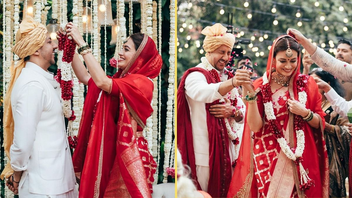 Sharing This Moment of Joy: Dia Mirza Posts Pics From Her Wedding