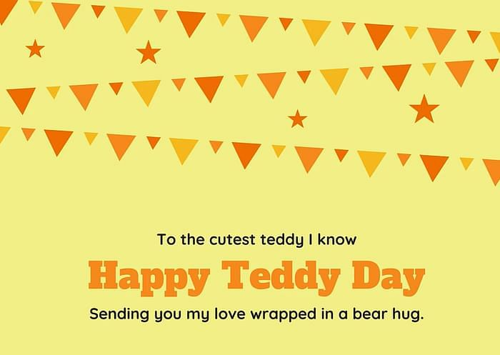 Teddy Day Wishes in English