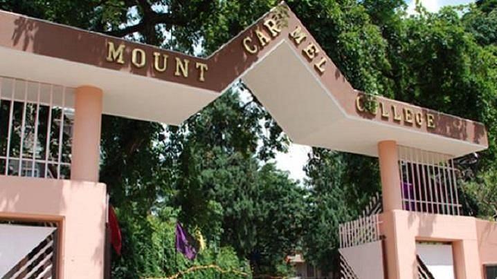 Mount Carmel College, Bengaluru.