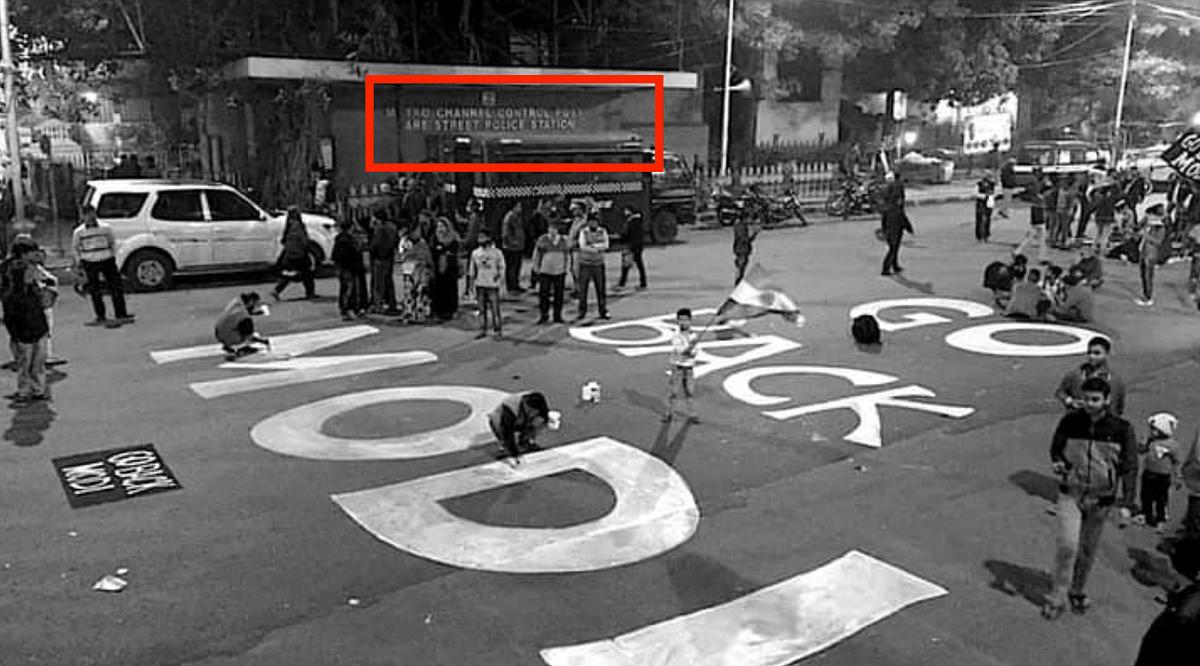 Old Graffiti From Kolkata Revived After PM Modi's Tamil Nadu Visit