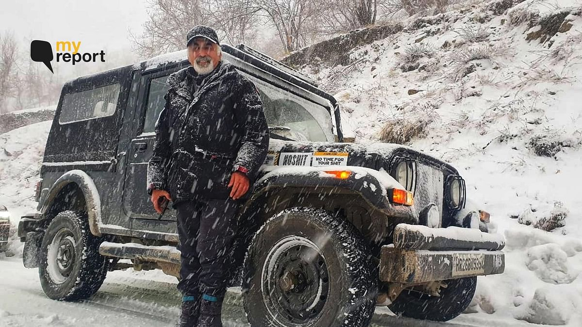 'Stuck in Snow Blizzard at Atal Tunnel, How I Made it Back Safely'