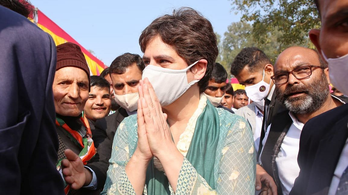 PM Spent ₹16k Cr on Planes, But Can't Pay Farmers' Dues: Priyanka