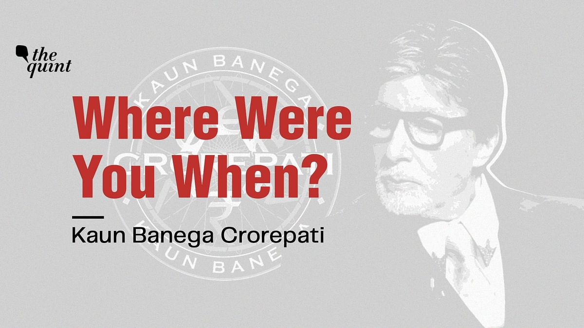 From 'Jugaad' on Sets To Making History: A Look at How KBC Started