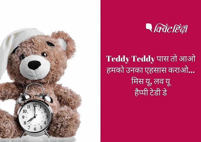 Teddy Day Wishes in Hindi.