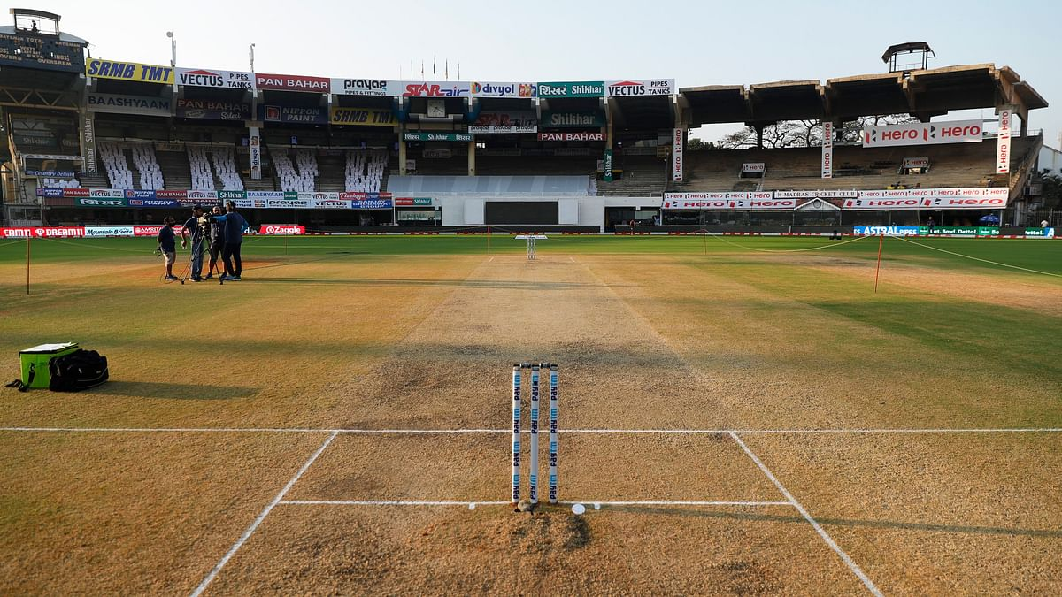 Chennai's Chepauk pitch has had much criticism for what many are calling a below-par surface.