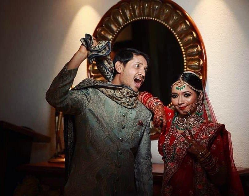 Krutika Lele & Tamir Khan's wedding.