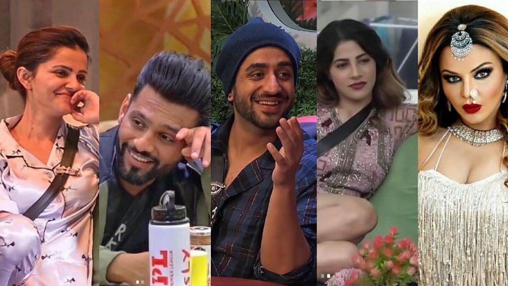 The top 5 contestants of Bigg Boss 14