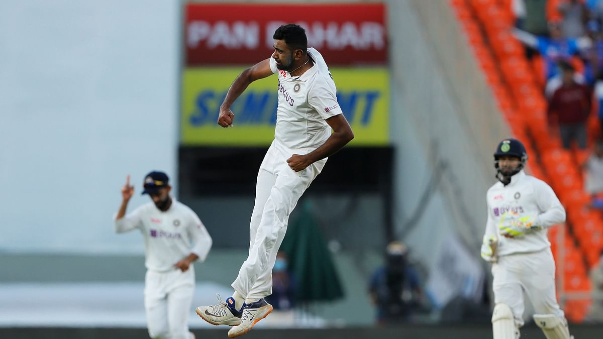 R Ashwin is the second fastest to reach 400 Test wickets.