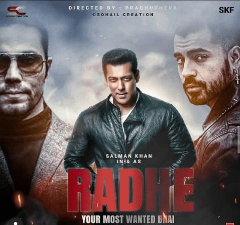 Poster for <i>Radhe</i>
