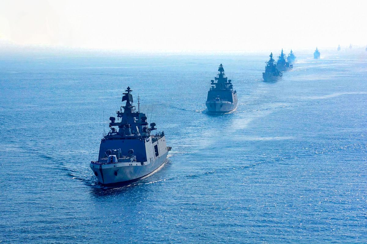 Representative image of the Indian Ocean Region. The importance of securing international sea lanes is possibly the most significant reason for China to engage in the IOR actively.