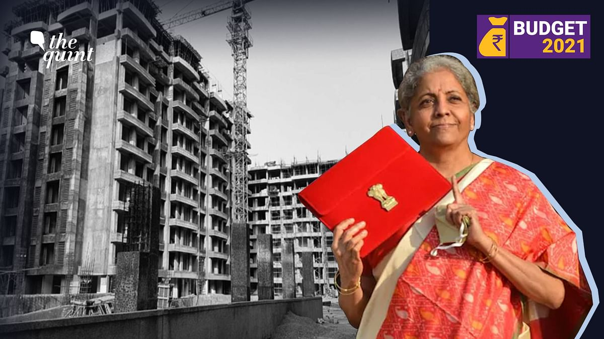 Realty sector was betting big on the Budget 2021 for its revival, however, most of its wishes didn't get fulfilled. Image used for representation.