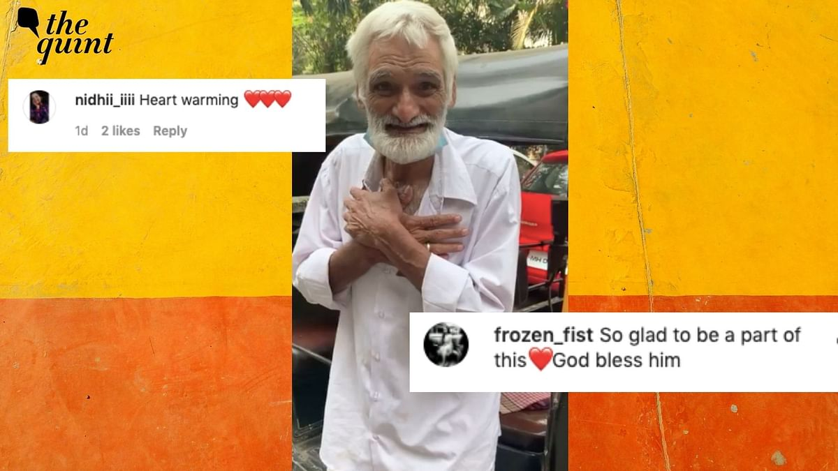 An elderly auto driver, faced with hardships following the demise of his two sons, was not going to let adversity bring him down.