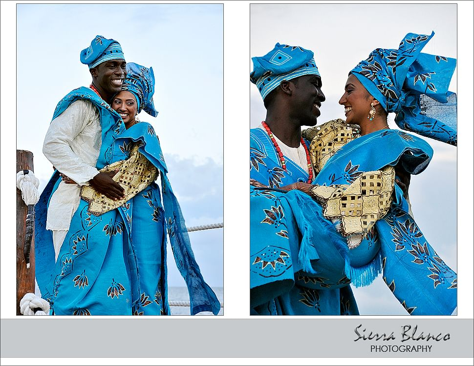 Neha and Tunde Ehindero's wedding