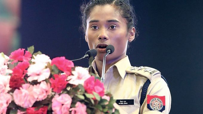 Hima Das Appointed as DSP in Assam Police