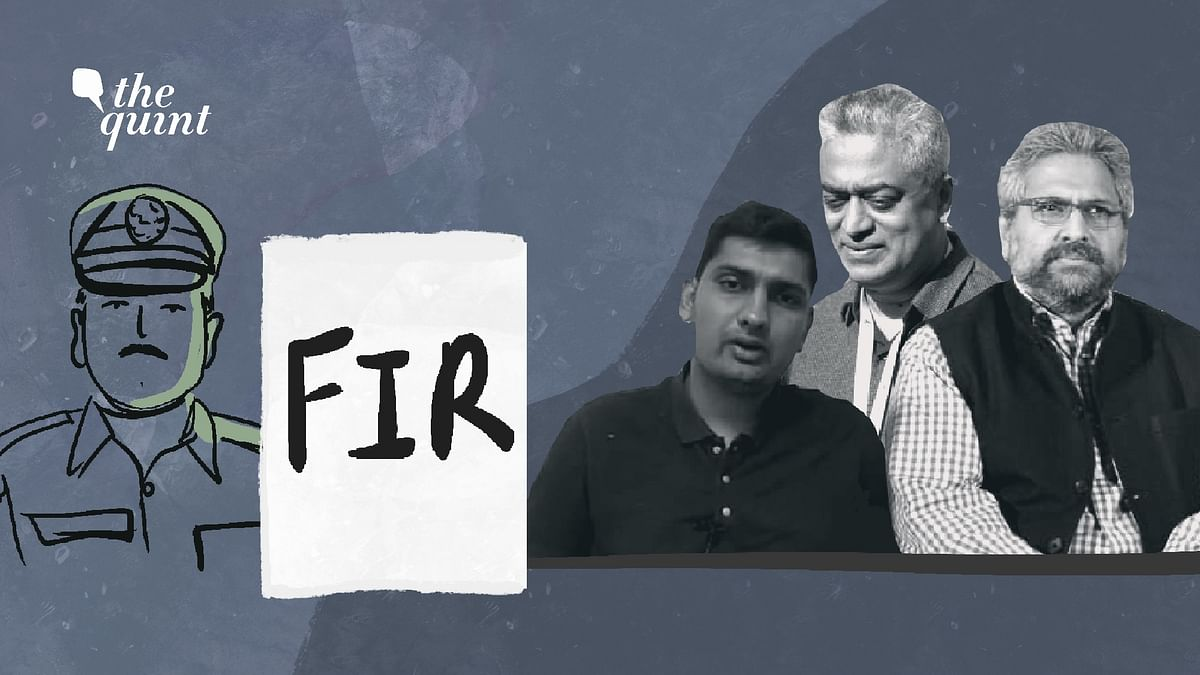 FIRs have been registered against several journalists in recent days including Mandeep Punia, Rajdeep Sardesai and Siddharth Varadarajan.
