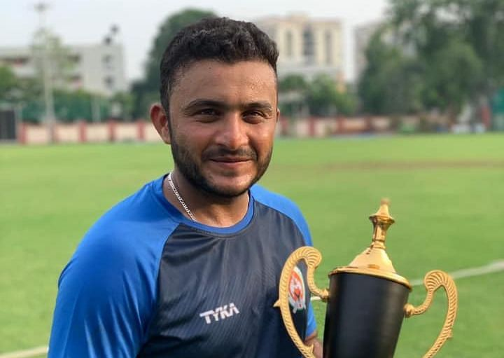 File picture of Kedar Devdhar who captained Baroda in the Syed Mustaq Ali tournament in the absense of Krunal Pandya.