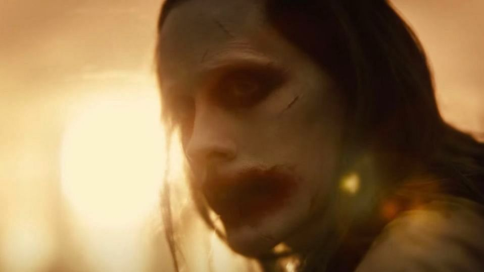 <p>Jared Leto as Joker in Justice League trailer.</p>