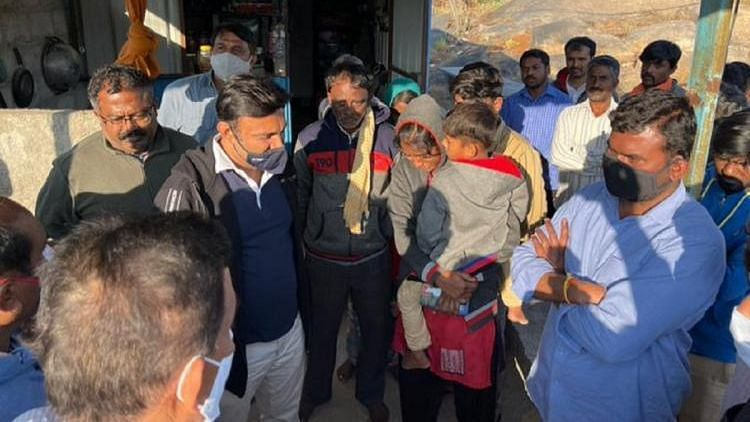 Hours after the tragedy involving the death of six workers of a quarry in Chikkaballapur near Bengaluru unfolded, it has emerged that District Superintendent of Police Mithun had inspected the site more than once in the last month.