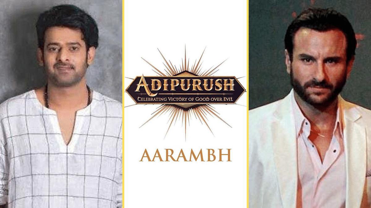 Production on Prabhas and Saif Ali Khan's upcoming film <i>Adipurush</i> has begun.