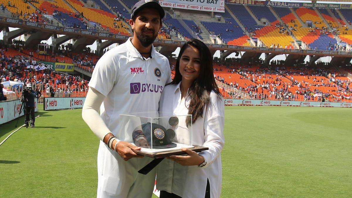 Ishant Sharma ahead of his 100th Test