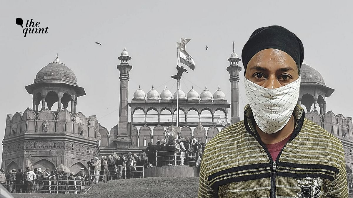 In a video, Singh was seen swinging swords at the Red Fort on 26 January, when the protesters entered the fort. Image used for representation.