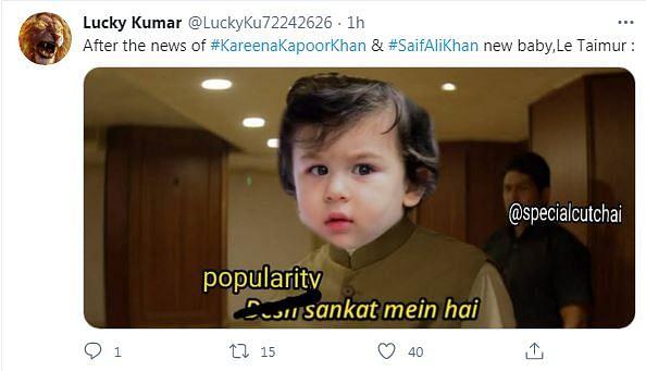 Taimur Memes Flood Twitter as Saif, Kareena Welcome Second Child