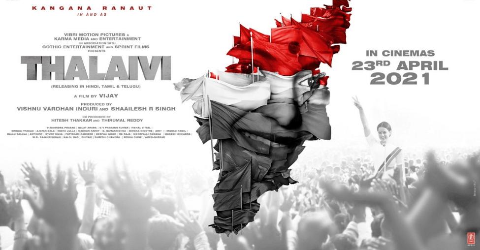 Poster for <i>Thalaivi</i>