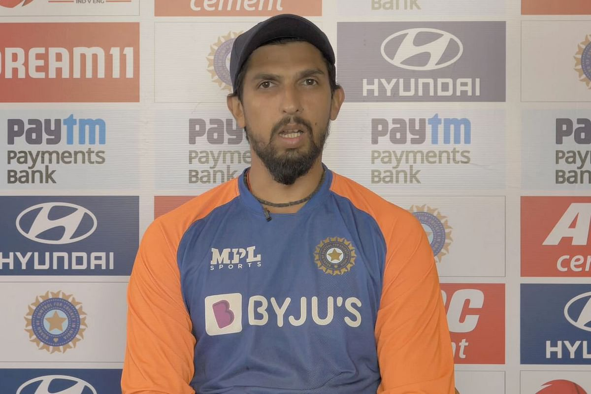 Ishant Sharma spoke to the media before playing his 100th Test for India, against England at Motera.