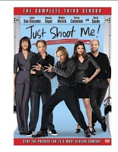 "<div class=""paragraphs""><p>George Segal in the poster for 'Just Shoot Me!'</p></div>"