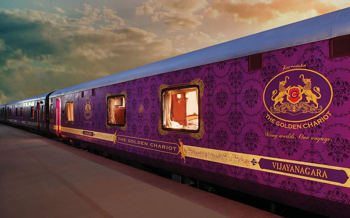 IRCTC resumed luxury train Golden Chariot from 14 March 2021.