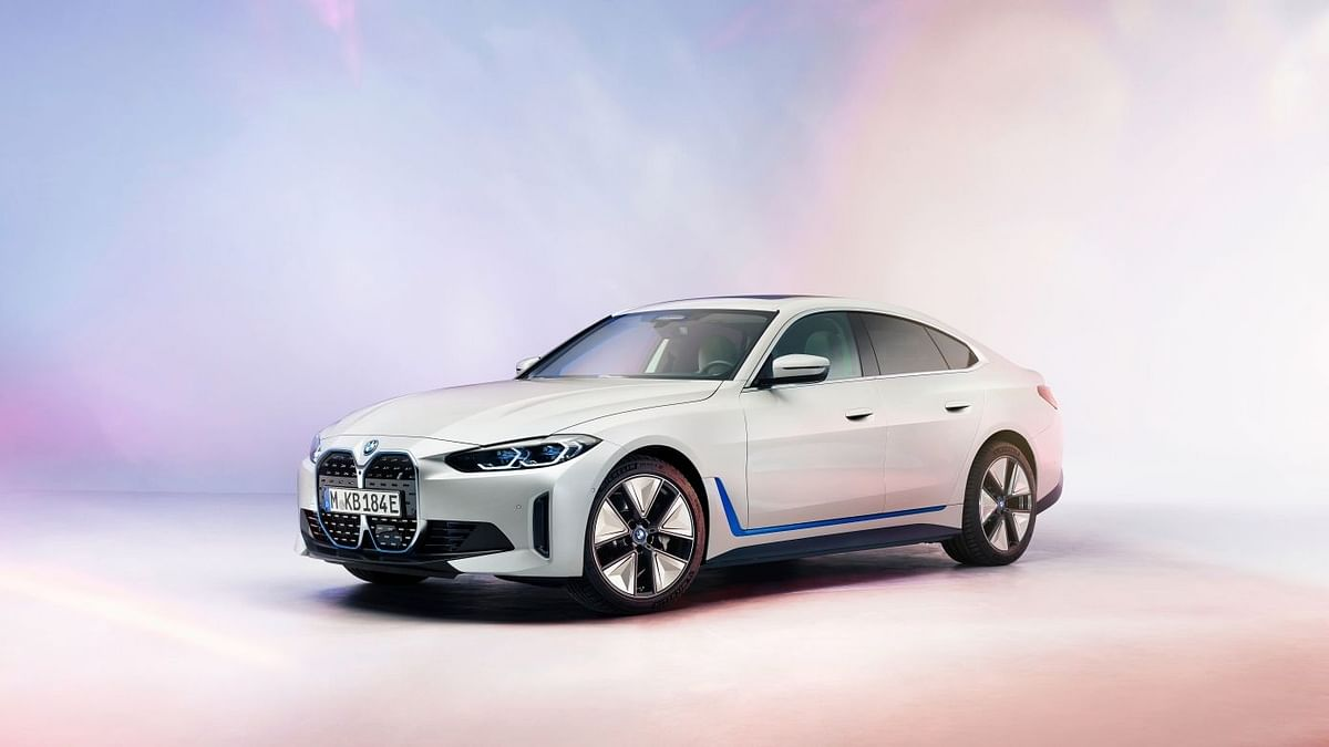 BMW Reveals Its First All-Electric Sedan i4, Check Details Here